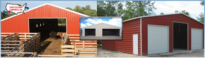 Metal Barns Offer Protection